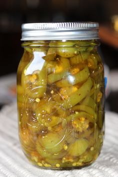 Candied jalapenos - THESE ARE ABSOLUTELY AMAZING!!!!