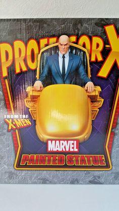 "BOWEN DESIGNS MARVEL ""PROFESSOR X"" Stands over 12 Inches Strictly Limited Neu! Professor, Marvel, Xmen, Comic, Ebay, Design, Characters, Teacher, Comic Book"