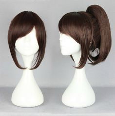 Wig Detail Attack On Titan Sasha Blouse Wig Includes: Wig, Hair Net Length - 35CM Important Information: Fitting - Maximum circumference of 55-60CM Material - Heat Resistant Fiber Style - Comes pre-st