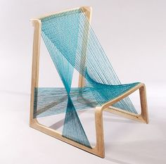 great concept for a chair. Wondering what it would be like to sit in it...