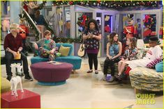 The A & A Music Factory Celebrates Their First Christmas - See The Pics!: Photo #902081. Ally (Laura Marano) and Austin (Ross Lynch) perform a new holiday song for their Music Factory students in this new still from Austin & Ally. In