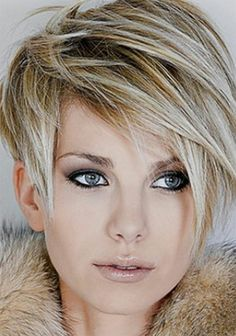 Easy short blonde spiky hairstyles.  haircut own hair # styles for growing out asymmetrical short hair # how to style short asymmetrical hairstyles # short asymmetrical hairstyles for round faces