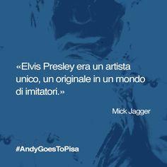 Anche voi sapete distinguere gli originali dalle imitazioni, ne siamo certi. Reinterpretate la citazione di #MickJagger con #AndyGoesToPisa #Warhol #quotes #popart #Pisa