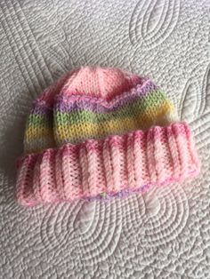 So Soft Knit Baby Girl  Hat Cozy Knitted by LakeviewCottageKids