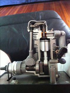 One of my cutaway airplane engines