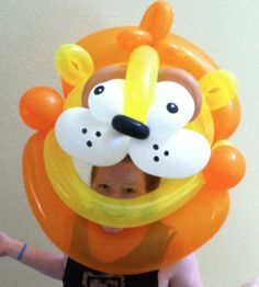Perfect for that really special event! Contact for more information on these incredible masks. Balloon Toys, Balloon Hat, Giant Balloons, Balloon Animals, Special Day, Special Events, Balloon Painting, 4th Birthday, Sculptures