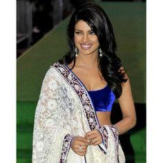 Priyanka Lahenga Priyanka White Lahenga Net Fabric Saree Bollywood Sarees