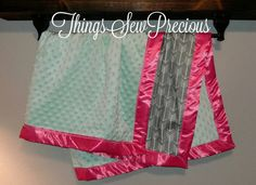 Check out this item in my Etsy shop https://www.etsy.com/listing/490328786/grey-arrows-mint-kinky-pink-trim-baby