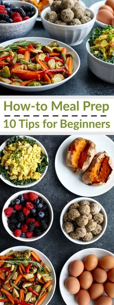 Following these 10 Meal Prep Tips & Tidbits will help make your meal prep go much smoother. Over time you'll develop a system that works for you; you'll create your own meal prepping groove! | http://therealfoodrds.com/top-10-meal-prepping-tips/