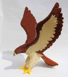 LEGO - Nathan Sawaya - Hawk