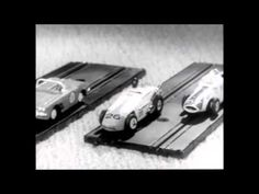 Watch the video: Auto-Rama Indianapolis Speedway Race Set from Gilbert (1960s)