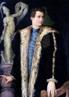 Giovanni de Medici By Giorgio Vasari Giovanni De Medici, Giovanni Boldini, Giorgio Vasari, Renaissance Portraits, Renaissance Paintings, 17th Century Fashion, 16th Century, Renaissance Men, Italian Renaissance