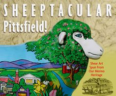 Commemorative book about Sheeptacular, Pittsfield, MA.