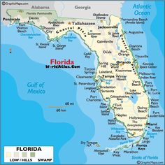 Map Of Florida Showing Treasure Coast Google Search Stuart - Vero beach florida map