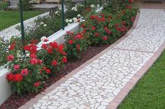 Bordure per un giardino cerca con google giardino piante fiori orto mobili giardino - Bordure giardino fai da te ...