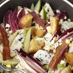 Recette : Salade d'endive, pomme et fromage bleu - Recette au fromage