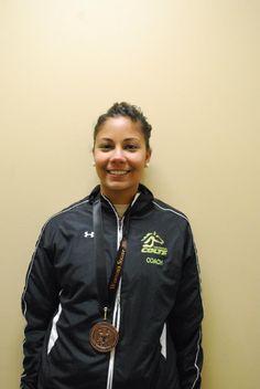 Ashley Stevens  Assitant Coach (Women's Soccer) Rain Jacket, Bomber Jacket, Athletics, Windbreaker, Soccer, Futbol, European Football, European Soccer, Football