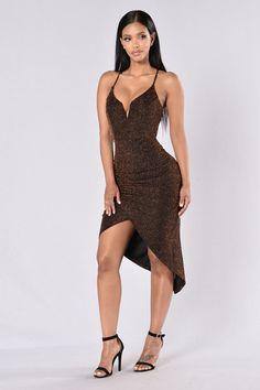 Unforgettable Night Dress - Bronze