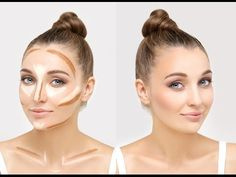 How To Contour? Contouring and Highlighting Makeup Compilation
