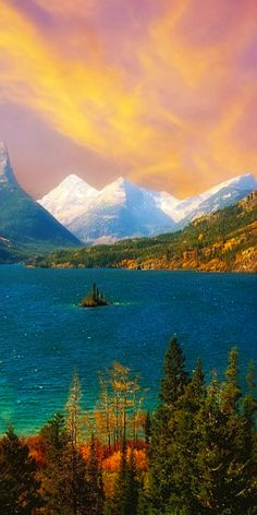 Saint Mary Lake ~ Montana - Glacier National Park