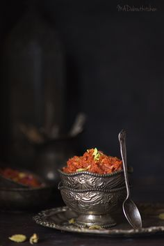 GAJar Ka Halwa – Gajrela – MADaboutkitchen Easy Indian Sweet Recipes, Indian Dessert Recipes, Indian Sweets, Delicious Donuts, Yummy Food, Sweets Photography, Gajar Ka Halwa, Comida India, Coconut Milk Recipes
