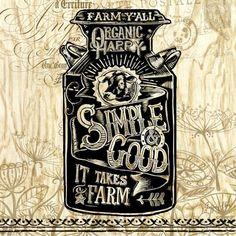 Happy Agrarian Milk Can ~ Artist: Geoff Allen