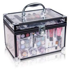 SHANY Carry All Trunk Professional Makeup Kit - Eyeshadow,be.-SHANY Carry All Trunk Professional Makeup Kit – Eyeshadow,best offer - Makeup Kit For Kids, Kids Makeup, Makeup For Teens, Makeup Box, Makeup Storage, Cute Makeup, Little Girl Makeup Kit, Makeup Holder, Makeup Gift Sets