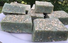 Rosemary Oatmeal Hot Process Soap