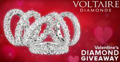 """Valentine Sparkle"" Diamond Giveaway"