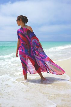 Silk Beach cover up luxury swimsuite cover up by YourBeachHouse
