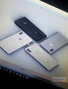 Renders de color del iPhone 8 aparecen con detalles destacables