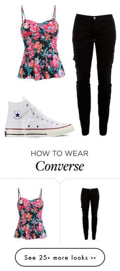 5a07f5b68def5c Back to school by lexi-slimak on Polyvore featuring Joie and Converse.