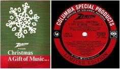 Various Artists / Christmas - A Gift of Music Vol. 2 (1968) / Columbia Special Products CSS-834 (LP), $8.50