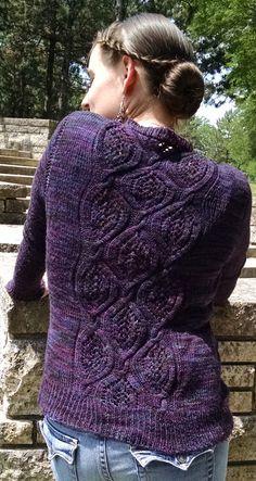 Knitty First fall 2016 Sofia cardigan