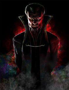 Ras al Ghul by Daniel Scott Gabriel Murray Comic Book Villains, Dc Comics Characters, Gotham Villains, Batman Universe, Universe Art, Ras Al Ghul, Talia Al Ghul, Tower Of Terror, Batman The Dark Knight