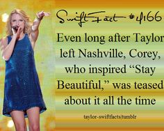 Taylor Swift Facts Sorry to anyone who ends up in one of my songs.... i try not to name names.
