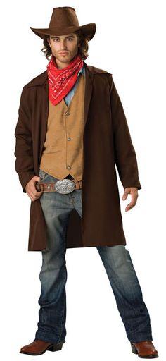 Mens Rawhide Renegade Adult Cowboy Costume - Mr. Costumes