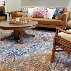 Area Rugs, – Area Rugs on hardwood Teal Area Rug, Light Blue Area Rug, Beige Area Rugs, Blue Armchair, Brown Sofa, Transitional Rugs, New Furniture, Furniture Stores, Apartment Living