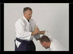 Aikido Basics: Wrist Lock Twist : Aikido Sankyo Rear Wrist Grab Defense - YouTube