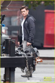 zac efron went bowling with nina dobrev this weekend 05 Zac Efron walks around the set of his upcoming movie Dirty Grandpa while prepping to film a scene on Monday (February 9) in Atlanta, Ga.    The 27-year-old actor…