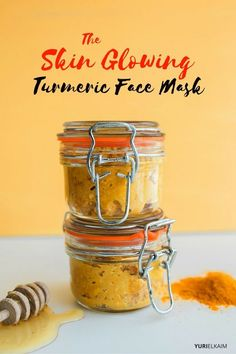 This turmeric face mask is good for your skin in so many ways – battling acne, wrinkles, dryness, and more. Plus, it'll save you serious cash. Check it out. | Yuri Elkaim