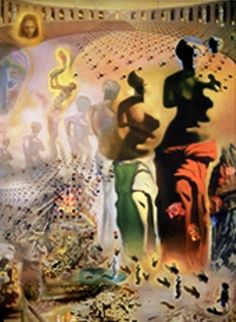 Hallucinogenic Toreador - another Dali. I had a t-shirt with this image when I was a teen