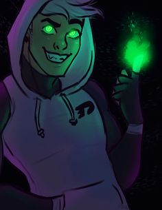 "fuzzyghostpillow: "" look at em glow """