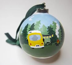 Holiday – Between the Evergreens Art by Elizabeth Lang Affordable Wall Art, Hand Painted Ornaments, Custom Curtains, Green Velvet, Manners, Evergreen, Original Artwork, Christmas Bulbs, Velvet Ribbon