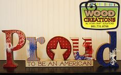 Be Craftastic! $20 Gift Certificate for $10 to Wood Creations~~PROUD to be an American Wood Craft!!