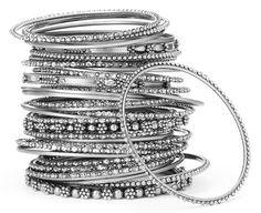 India silver | Marigold Events – Indian Wedding Inspirations, Wedding Lenghas ...