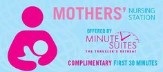 Mother's Nursing Station Offered by Minute Suites at PHL