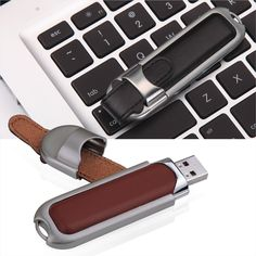 Branded leather USB flash drives Executive Style with professional logo embossing by #MemoTrek your leading wholesale supplier of promotional USB gifts - http://www.memotrek.com/usb-flash-drives-executive-style