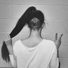 'Hair Tattoos' Are The Latest Hair Trend That Features Awesome Undercut Designs - DesignTAXI.com