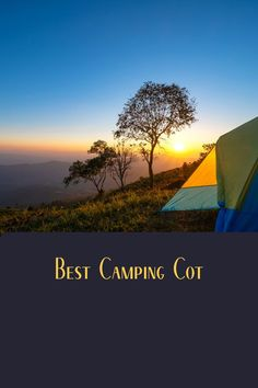 The best way to improve your camping tent sleeping is to sleep on a cot. See what our favorites are. Camping Cot, Camping Gear, Camping Hacks, Outdoor Camping, Improve Yourself, Have Fun, This Is Us, Sleep, Vacation